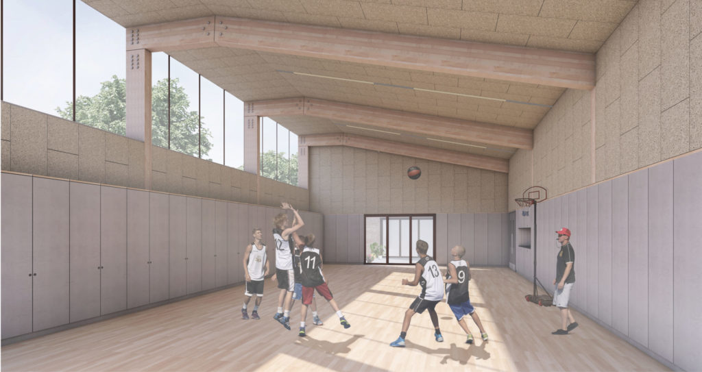 The New Bede Centre features a fantastic multi-activity hall. It's perfect for everything from sports events to community gatherings.
