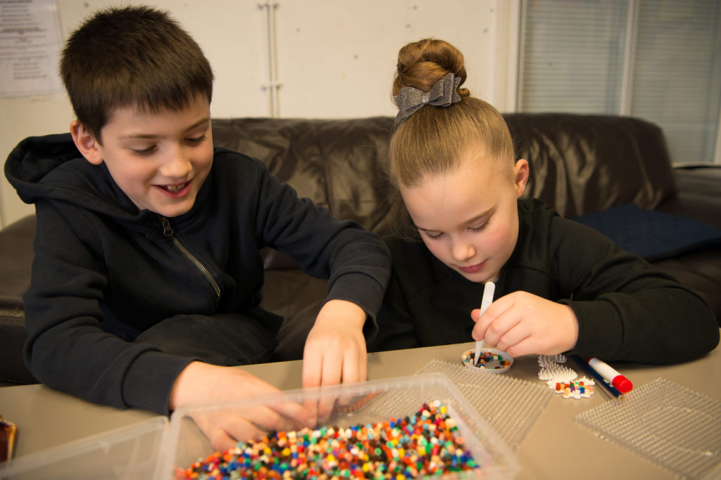 Children take part in a wide range of fun activities as part of our Bede Youth programme.
