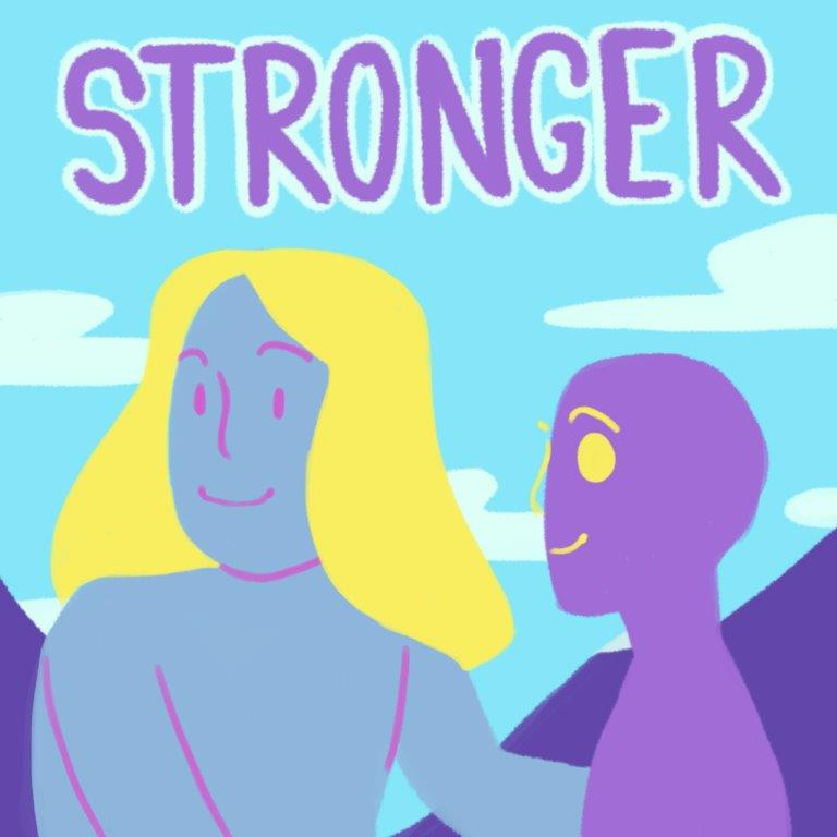 Our animation reflects how peer groups can play a vital role in our Bede: Starfish Ending Domestic Abuse programme. To support the programme, Strictly Come Dancing star Hayley Sanderson helped create a Bede survivors' choir. Here they are singing a cover of Britney Spears' Stronger.